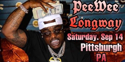 Peewee Longway performing Live in Pittsburgh, PA