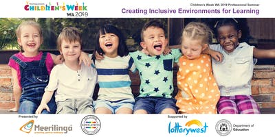Creating Inclusive Environments for Learning: Free Children's Week Seminar