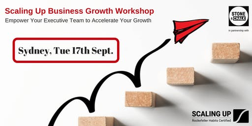 ScalingUp Business Growth Workshop - 17 Sep 2019
