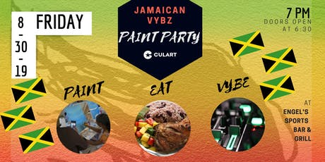 Jamaican Vybz Paint Party tickets
