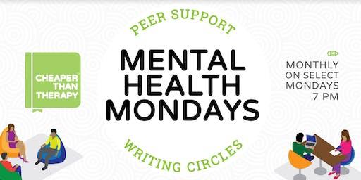 Mental Health Mondays: Peer Support Writing Circle