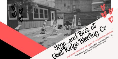 Yoga + Beer at Goat Ridge