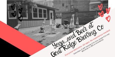 Yoga + Beer at Goat Ridge tickets