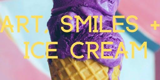 Art, Smiles & Ice Cream