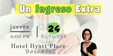 ¡Amo Los Descuentos! presenta: Un Ingreso Extra  tickets