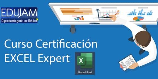 Curso Certificación Excel Expert