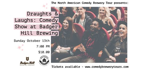 Draughts & Laughs: Beer and Comedy Show at Badger Hill Brewing tickets