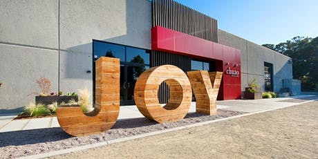 Chuao Gift Certificate for a JOY Factory Event tickets