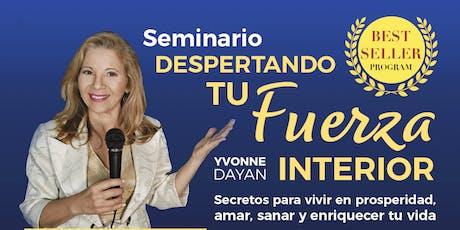 DESPERTANDO TU FUERZA INTERIOR tickets