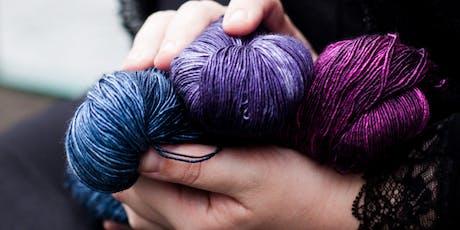 Learn to Dye Yarn - Beginners Workshop tickets