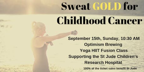 Sweat GOLD for Childhood Cancer tickets