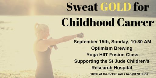 Sweat GOLD for Childhood Cancer