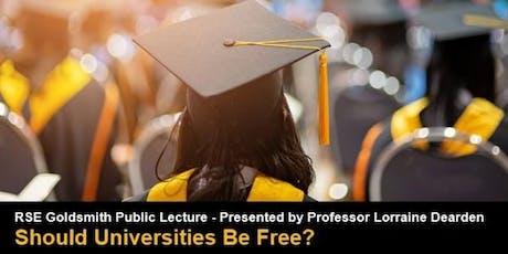 RSE Goldsmith Public Lecture - Presented by Professor Lorraine Dearden  tickets