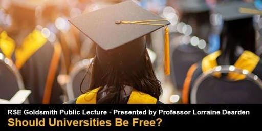 RSE Goldsmith Public Lecture - Presented by Professor Lorraine Dearden