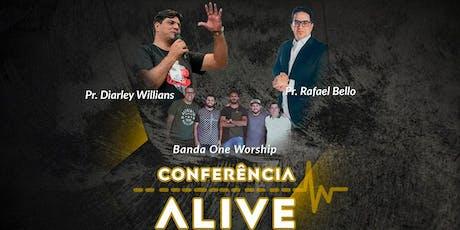 Conferência ALIVE ingressos
