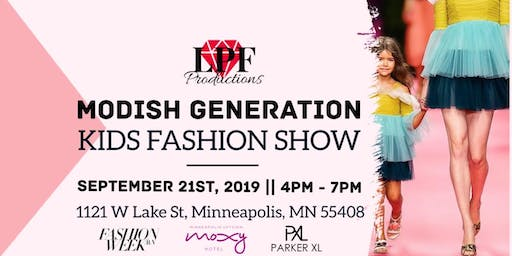 Modish Generation Kids Fashion show