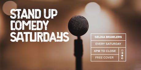 Stand Up Comedy Saturdays @Selina Brawlers in Wynwood tickets
