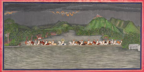 Lecture+Dinner: Rare Landscape Paintings from the Royal Court of Udaipur, India tickets