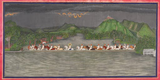 Lecture+Dinner: Rare Landscape Paintings from the Royal Court of Udaipur, India
