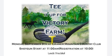 TEE IT UP for Victory Farm tickets