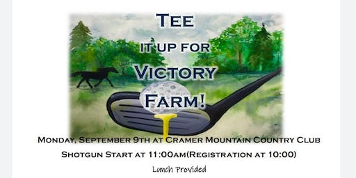 TEE IT UP for Victory Farm