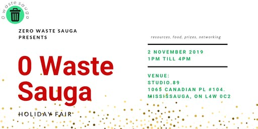 0 Waste Sauga Holiday Fair