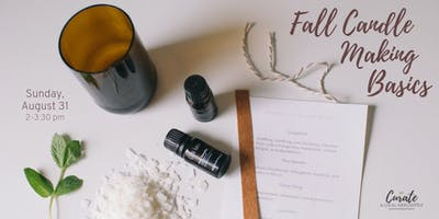 Fall Candle Making Basics