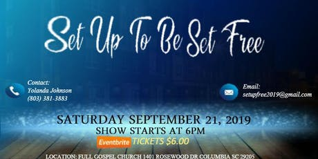 """Set Up To Be Set Free"" Gospel Stage Play tickets"