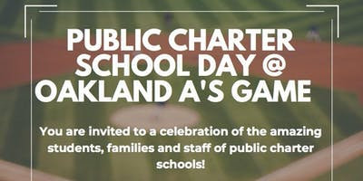 Public Charter School Day at the Oakland Athletics game