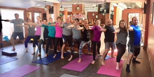 Yoga on Tap at Lock 32