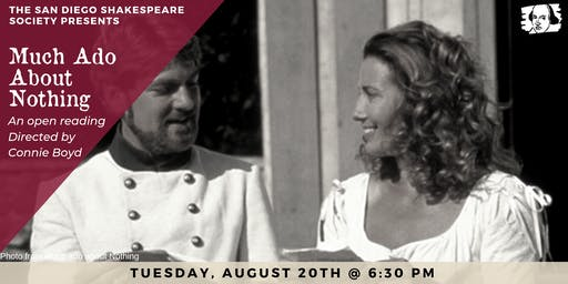 Much Ado About Nothing Open Reading