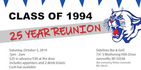 Craig High School Class of 1994 Reunion (25th) tickets
