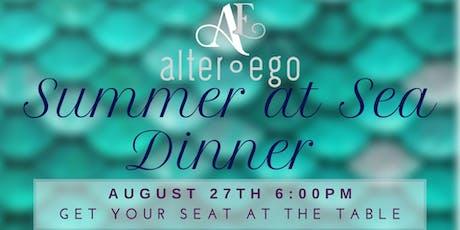 Summer at Sea Dinner tickets