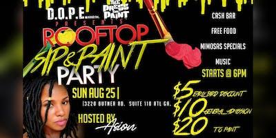 RoofTop sip & paint