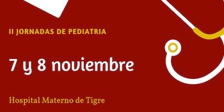 II jornadas de pediatría HMiT entradas