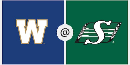Tickets Only Labour Day - Saskatchewan Roughriders vs Winnipeg- Pil Country