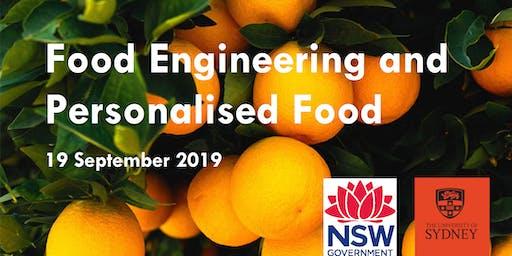 Food Engineering and Personalised Food Workshop