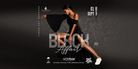 Annual Black Affair at Sidebar 09.01 #SundaySkool tickets