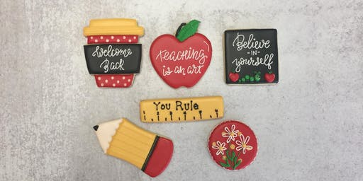 Back to School Sugar Cookie Decorating Class