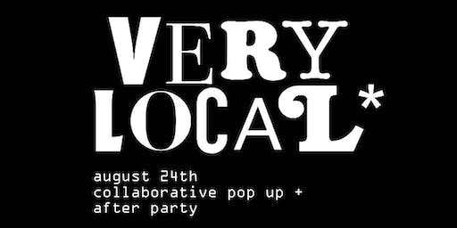 Very Local: Rooftop Party (FREE POP-UP SHOP 5-7PM)