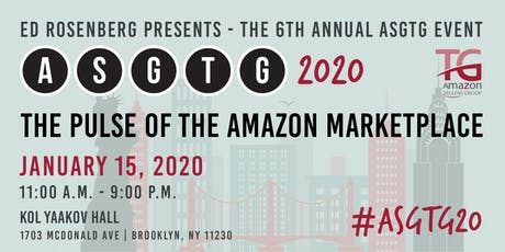 Amazon Sellers Event/Meetup ASGTG 2020: The Pulse of the Amazon Marketplace tickets