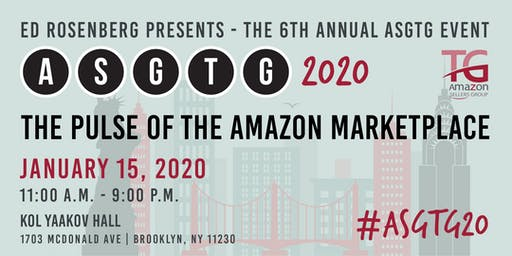 Amazon Sellers Event/Meetup ASGTG 2020: The Pulse of the Amazon Marketplace