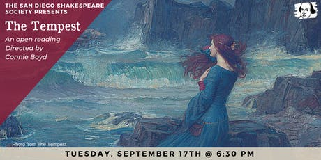 The Tempest Open Reading tickets