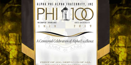 Phi Chapter 100th Anniversary Ball - Brothers Registration
