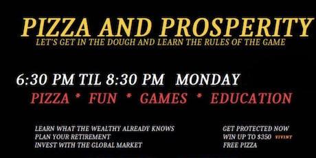 Pizza & Prosperity tickets