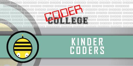 Kinder Robotics/Animate - Kinder Coder (Term 3 School Holidays - 2019) tickets
