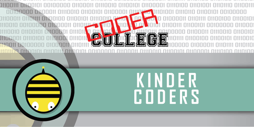 Kinder Robotics/Animate - Kinder Coder (Term 3 School Holidays - 2019)