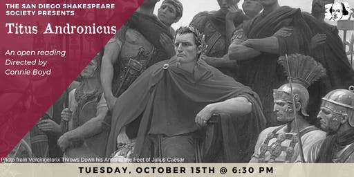 Titus Andronicus Open Reading
