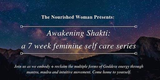 The Nourished Woman Presents: Awakening Shakti 7 week Feminine Self-Care Series