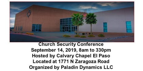 Church Security Conference tickets